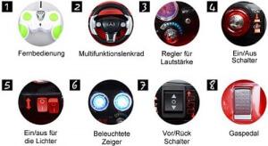 Funktionen von Elektronischen Kinderautos