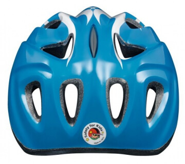 ABUS Kinder Fahrradhelm Super Chilly, X-flame blue, 52-57 cm, 51991-8 - 3
