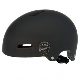 ALPINA Fahrradhelm Airtime, Black Matt, 52-57 cm, 9647130 - 1