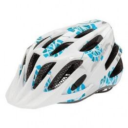 ALPINA Kinder Fahrradhelm FB Junior 2.0, White/Cyan/Silver, 50-55 cm, 9678117 - 1