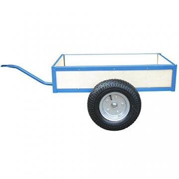 Anhänger für Go Kart Gokart Tretauto blau 81 x 73 x 34 cm - 1