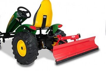 Berg Toys Schieber 15.60.60 Schneeschieber passend zu Hebevorrichtung vorne oder hinten. Gokart Zubehör zu Extra, Silverstar, John Deere, Claas, Racing, Traxx, Xplorer - 3