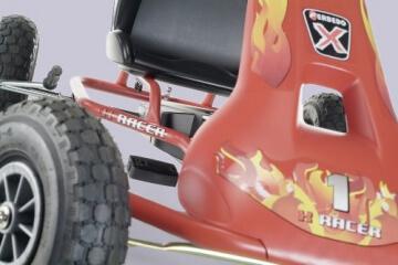 Ferbedo 008733 - Go-Cart Air Racer ar-2, red - 2