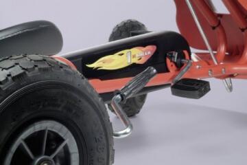 Ferbedo 008733 - Go-Cart Air Racer ar-2, red - 3