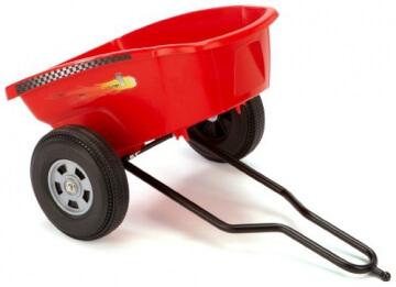 Ferbedo 30133 - Cart Trailer für Ferbedo Go-Carts, red - 2