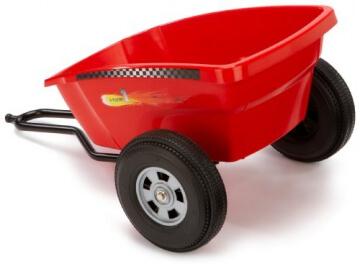 Ferbedo 30133 - Cart Trailer für Ferbedo Go-Carts, red - 3
