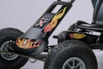 Ferbedo 8710 - Go-Cart Air Racer ar-2, black - 5