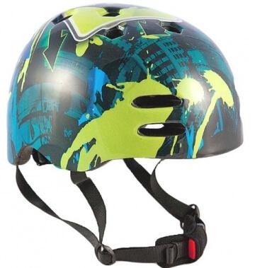 """Sport Direct? """"No Bounds"""" Skate BMX Fahrrad Bike Helm - 1"""