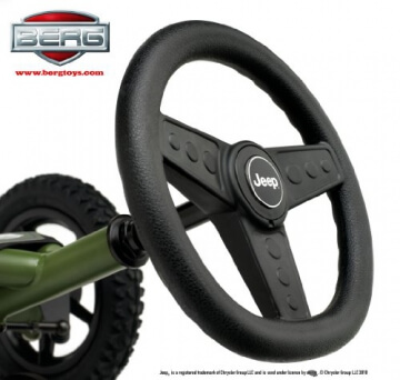 Bergtoys Jeep Junior Buddy Pedal-Gokart - 2