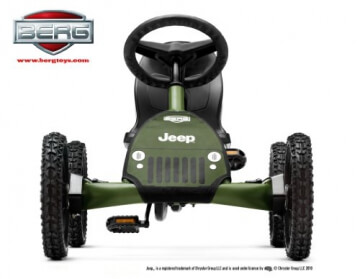 Bergtoys Jeep Junior Buddy Pedal-Gokart - 3