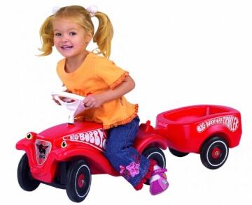 BIG 1300 - Bobby-Car Anhänger, rot - 3