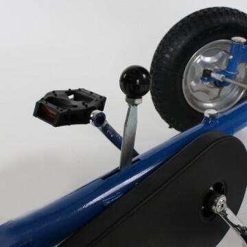 TecTake® Gokart Tretauto Go Kart Tretfahrzeug blau - 7